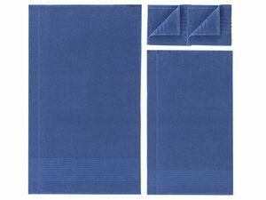MIOMARE® Frottier-Handtücherset, 6-teilig