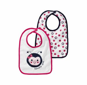 Liegelind Baby-Mädchen-Lätzchen, 2er Pack