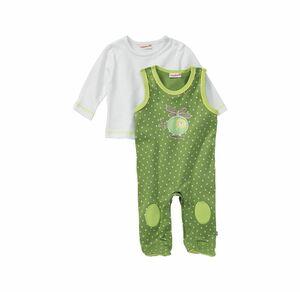 Liegelind Baby-Jungen-Strampler-Set mit Punktemuster, 2-teilig