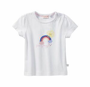 Liegelind Baby-Mädchen-T-Shirt mit Regenbogen-Frontaufdruck