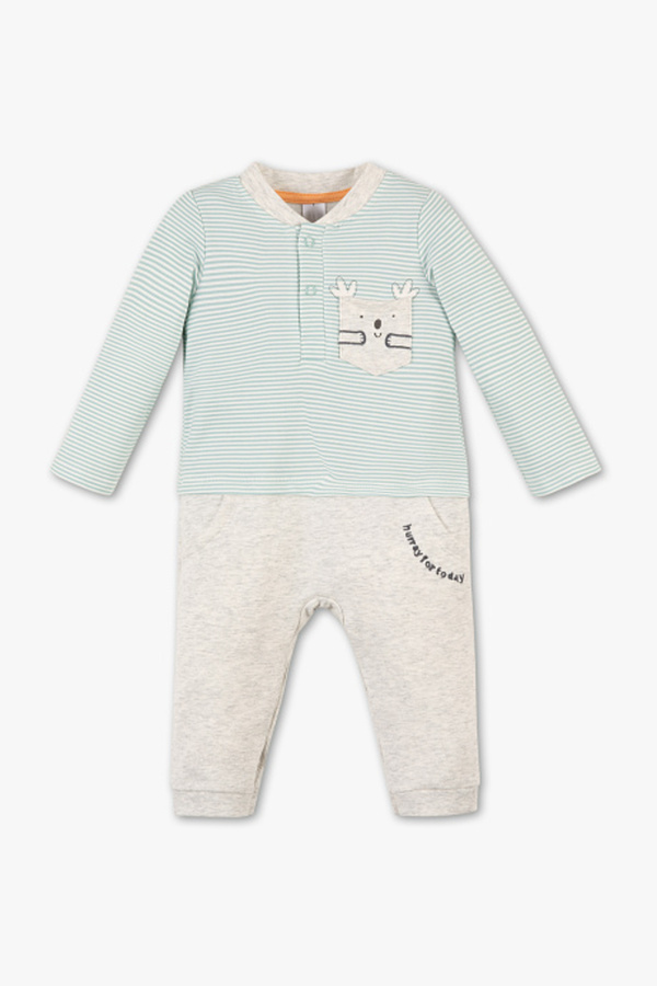 Baby Club         Baby-Jumpsuit - 2-in-1-Look
