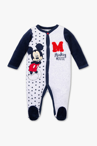 Micky Maus- Baby-Schlafanzug - Bio-Baumwolle