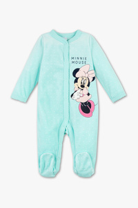 Minnie Maus - Baby-Schlafanzug - Bio-Baumwolle - gepunktet