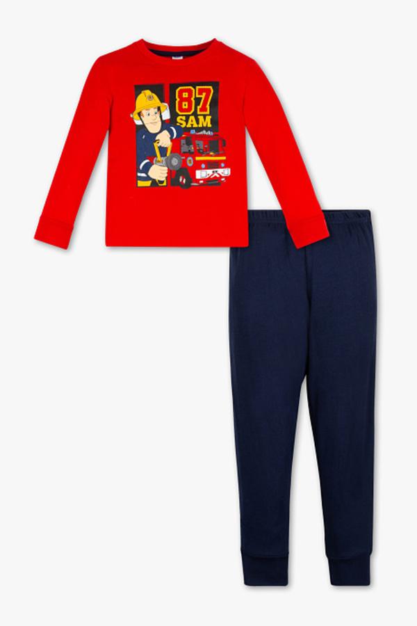 Feuerwehrmann Sam - Pyjama - Bio-Baumwolle - 2 teilig