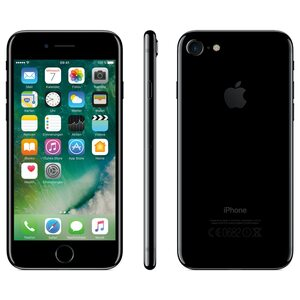 "APPLE iPhone 7 Smartphone, 11,94 cm (4,7"") Retina HD Display, 128 GB Speicher, A10 Fusion Chip, LTE, Touch ID, generalüberholt"