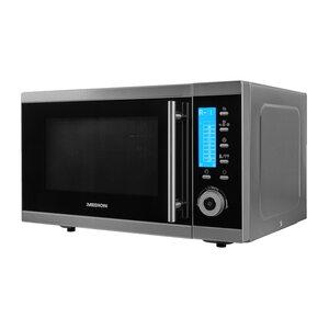 MEDION 4in1 Mikrowelle MD 15501, Kombination aus Mikrowelle, Ofen und Doppelgrill, 10 Automatikprogramme, 25 L Garinnenraum