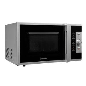 MEDION 3in1 Mikrowelle MD 18502, Kombination aus Mikrowelle, Ofen und Grill, 5 Automatikprogramme, 28 L Garinnenraum