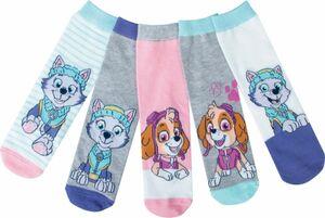 Kinder Socken, 5er Pack - Paw Patrol Girls, Gr. 31/34
