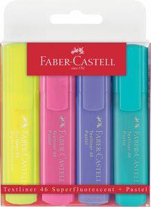 Faber Castell - Textmarker, 4er pack