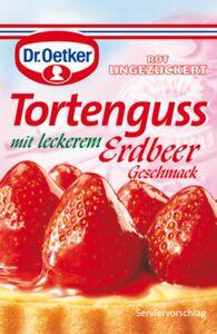 Dr. Oetker Tortenguss Erdbeer 3 x 250 ml / 750 ml