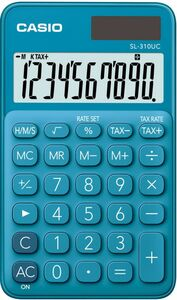 Casio Taschenrechner - blau