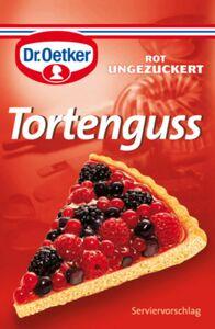 Dr. Oetker Tortenguss Rot für 3 x 250 ml / 750 ml