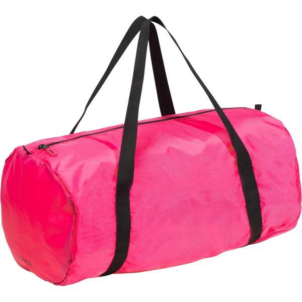 Sporttasche Fitness Cardio faltbar 30 l rosa