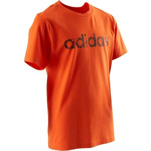T-Shirt Fitness Kinder orange
