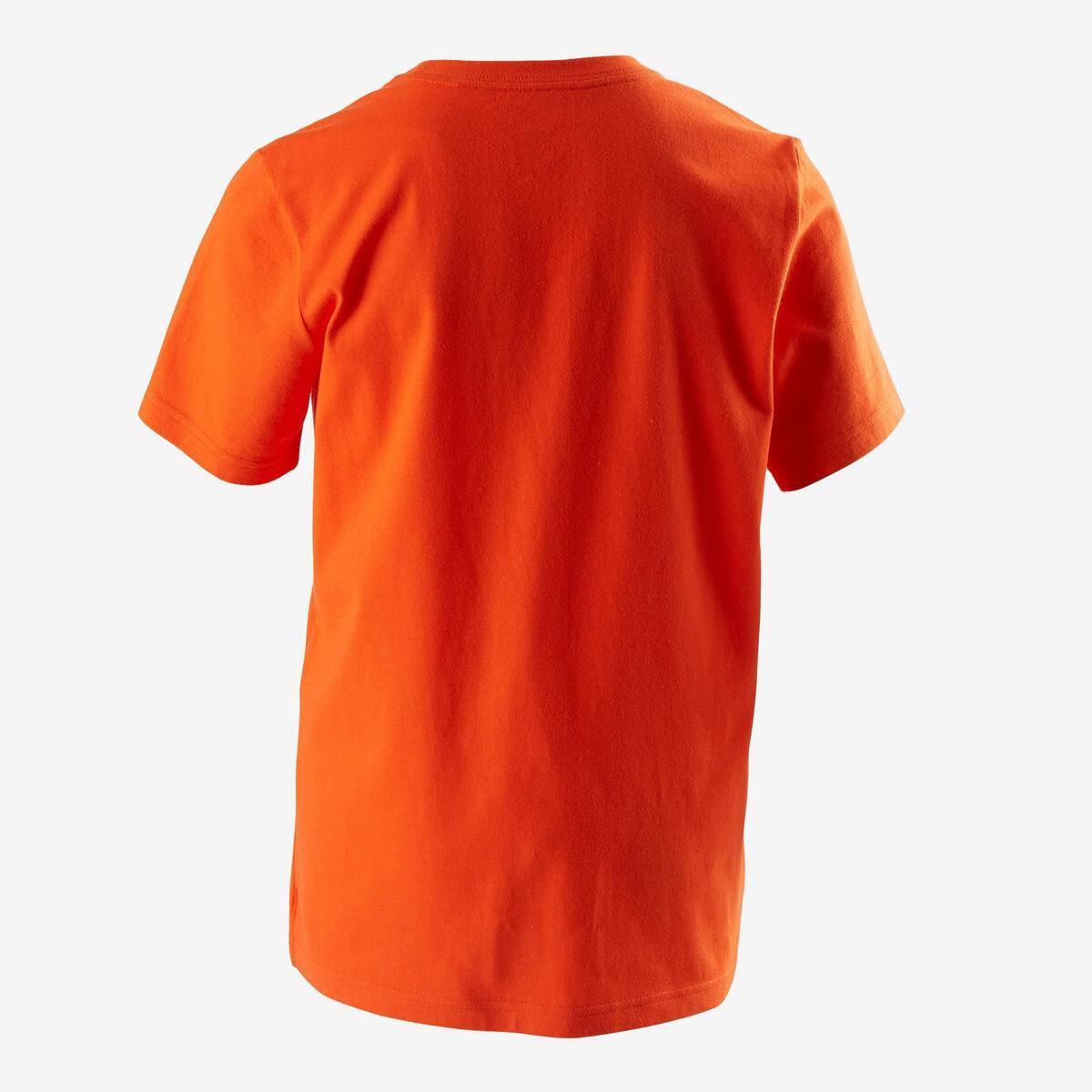 Bild 3 von T-Shirt Fitness Kinder orange