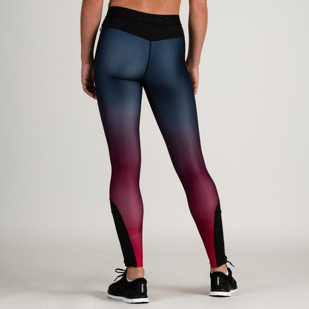 Bild 4 von Leggings FTI 500 Fitness Cardio Damen bordeaux