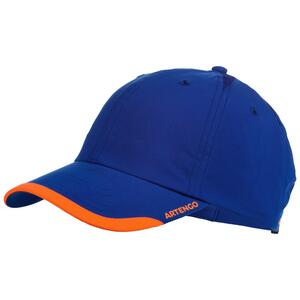 Schirmmütze TC 100 Tennis-Cap blau/orange