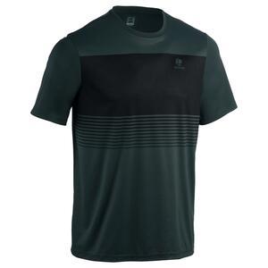 T-Shirt Soft 100 Tennisshirt Herren kaki