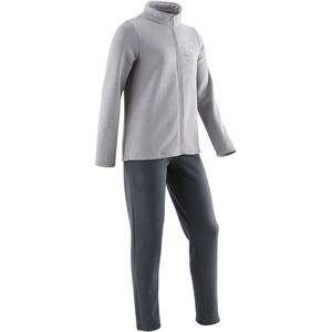 Jogginganzug Warm´y Zip 100 Kinder grau