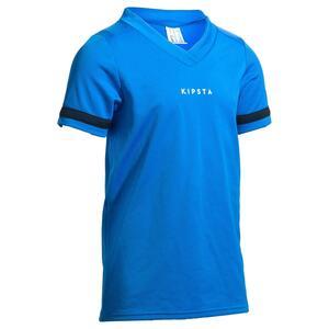 Rugbytrikot R 100 Kinder blau