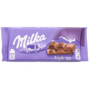 Milka Schokoriegel Triple Schokolade