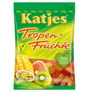 KATJES             Tropen-Früchte, 500g                 (2 Stück)