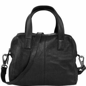 Echtleder Shopping Bag schwarz