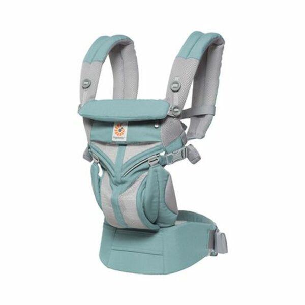 ERGOBABY® Omni 360 Cool Air Mesh Babytrage, 4 Tragepositionen Icy Mint