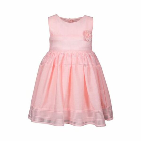 Kleid ohne Arm Blüte rosa