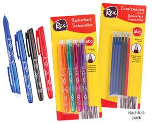 Rex®  Radierbarer Tintenroller