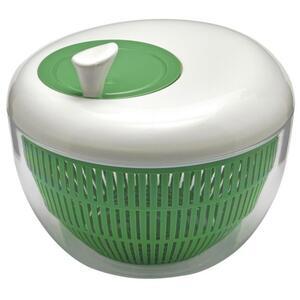 IDEENWELT Salatschleuder Apfelform grün/weiß