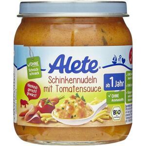 Alete Schinkennudeln mit Tomatensauce 0.50 EUR/100 g (6 x 250.00g)