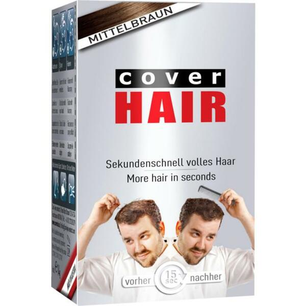 COVER HAIR Haarverdichtung mit Schütthaar mittelbraun 71.07 EUR/100 g