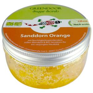 GREENDOOR Sugar Scrub Sanddorn Orange 3.69 EUR/100 g