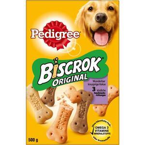 Pedigree Biscrok in drei Geschmacksrichtungen 2.58 EUR/1 kg