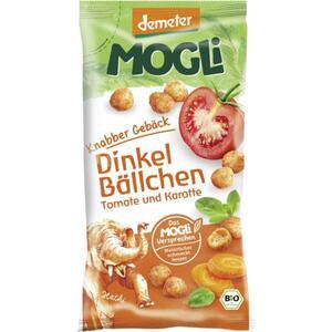 MOGLi Knabber Gebäck Dinkel Bällchen Tomate und Karotte 2.98 EUR/100 g
