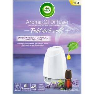 Air Wick Aroma-Öl Diffuser Starter Set Entspannender Lavendel