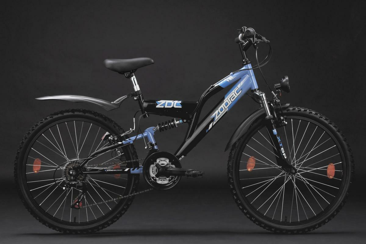 Bild 4 von KS Cycling Kinderfahrrad Mountainbike Fully 24'' Zodiac
