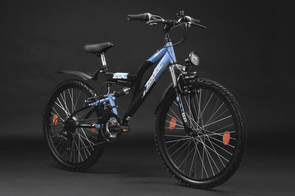 Bild 5 von KS Cycling Kinderfahrrad Mountainbike Fully 24'' Zodiac