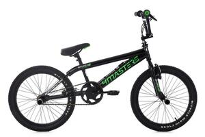 KS Cycling BMX Freestyle 20'' 4Masters schwarz-grün