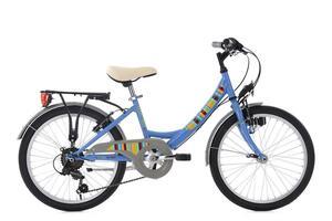 KS Cycling Kinderfahrrad 20'' Gurlz blau RH 31 cm