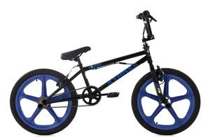 KS Cycling BMX Freestyle 20'' Xtraxx schwarz-blau