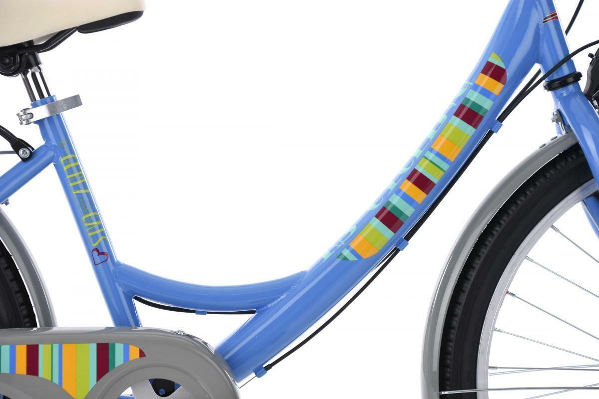 Bild 2 von KS Cycling Kinderfahrrad 24'' Gurlz blau RH 36 cm