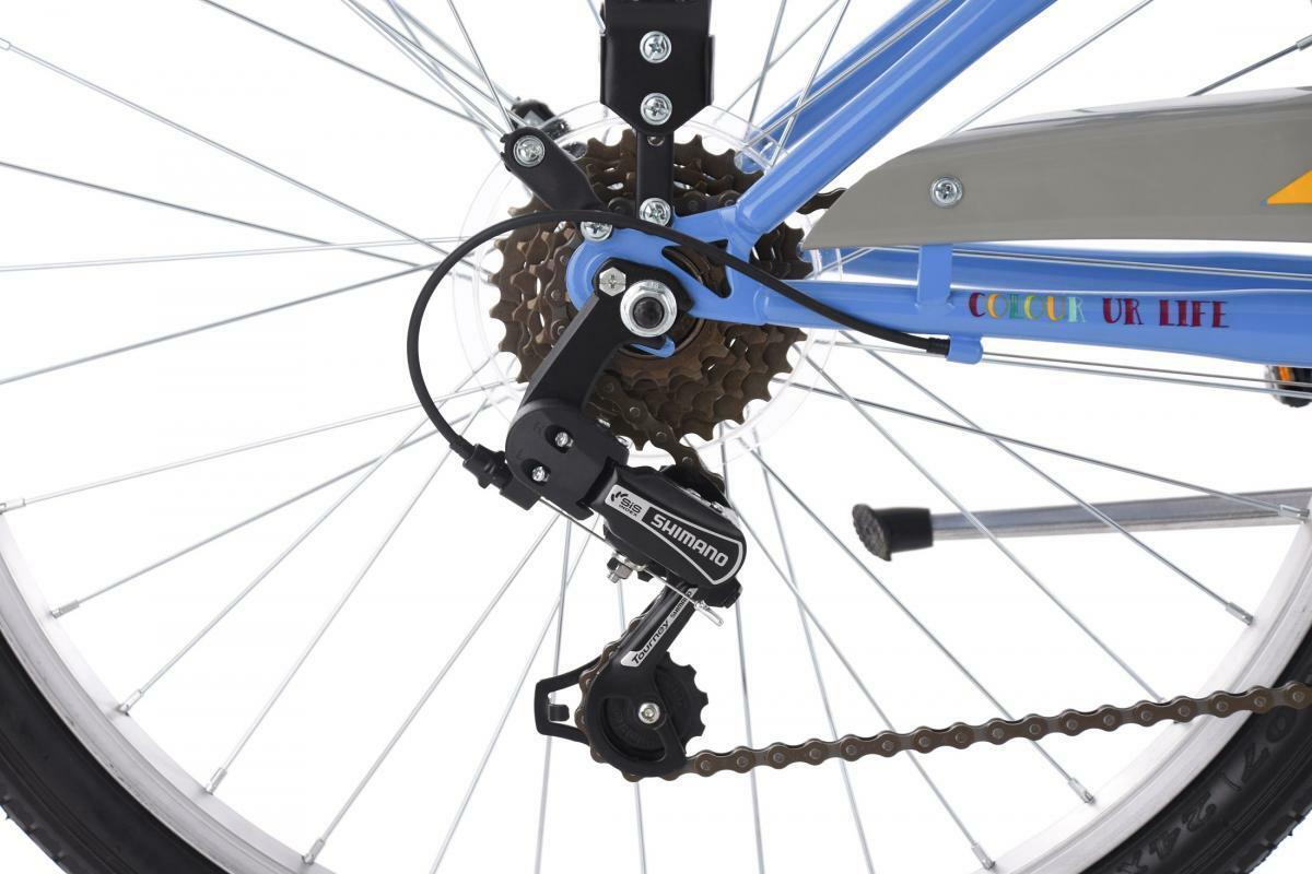 Bild 4 von KS Cycling Kinderfahrrad 24'' Gurlz blau RH 36 cm