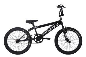 KS Cycling BMX Freestyle 20'' 4Masters schwarz-weiß