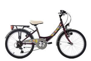 KS Cycling Kinderfahrrad 20'' Gurlz lila RH 31 cm