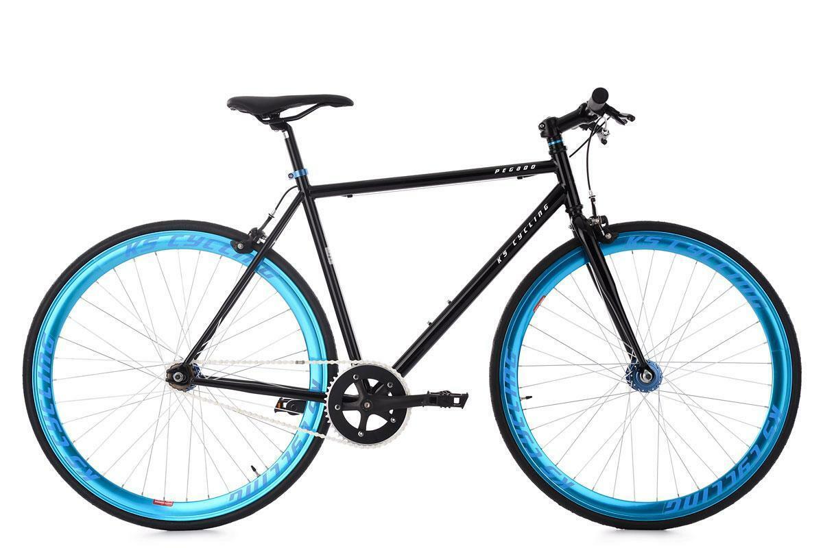 "Bild 1 von KS Cycling Fixie Fitnessbike 28"" Pegado"