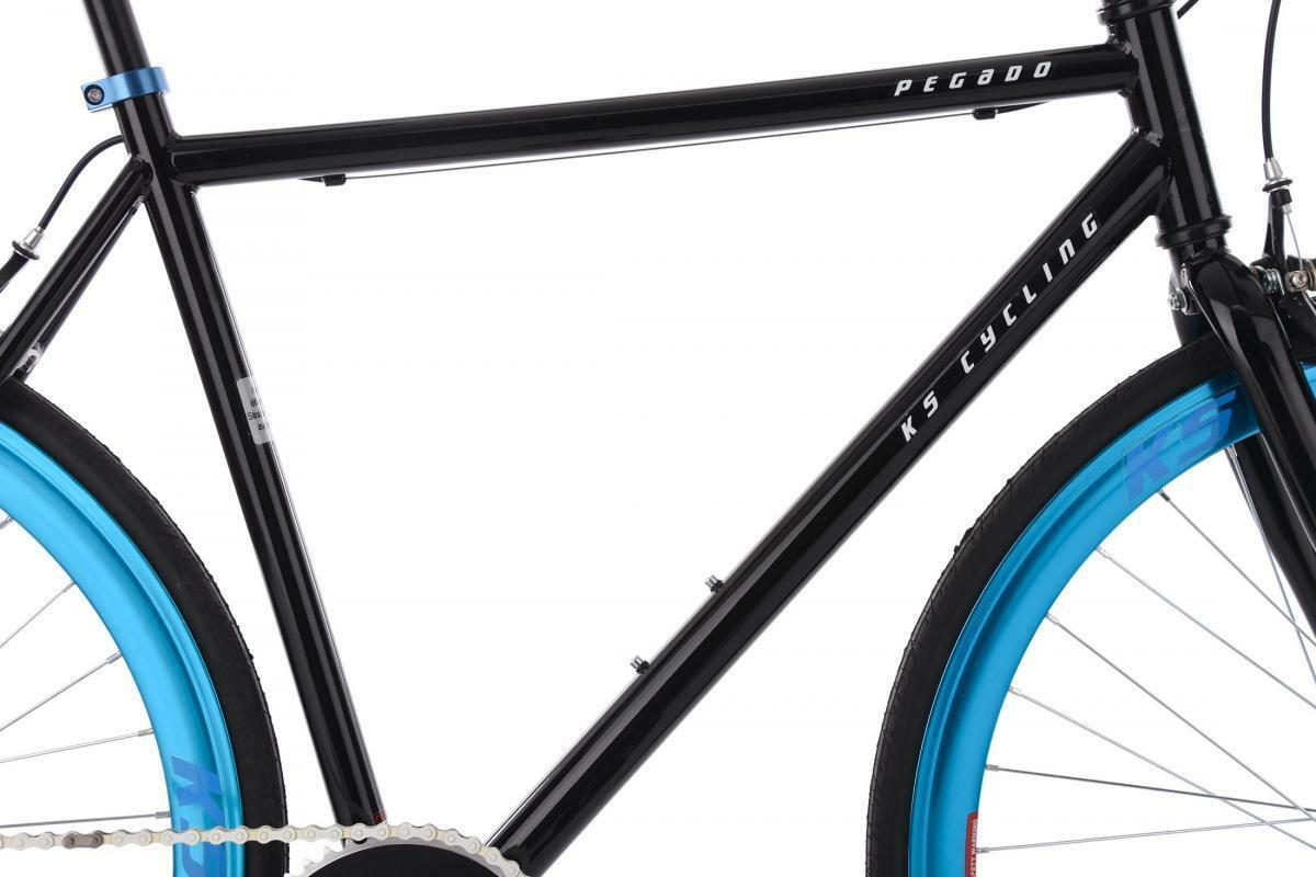 "Bild 2 von KS Cycling Fixie Fitnessbike 28"" Pegado"
