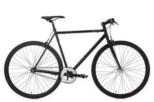 KS Cycling Fixie Fitnessbike 28'' Flip Flop schwarz RH 56 cm