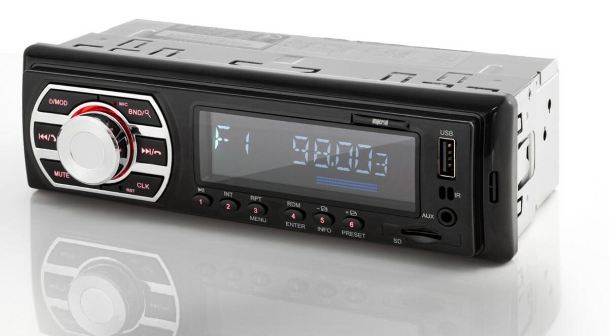 Bild 1 von Imperial DAB+ Autoradio mit Bluetooth / USB / SD